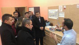 TUİK Bölge Müdürlüğü İçme Suyu ve Atık Su Arıtma Tesislerini Ziyaret Ettiler