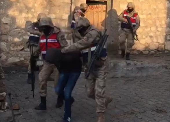 Siirt İl Jandarma Komutanlığında Operasyonlar Durmuyor