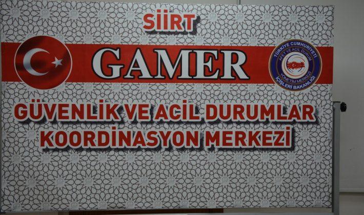 """SİİRT'TE """"SEÇİM KOORDİNASYON MERKEZİ"""" KURULDU"""