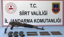 Silah Mühimmat ve Yaşam Malzemeleri yakalandı