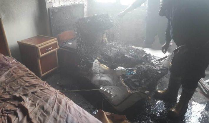 Siirt'te Otel Yangını