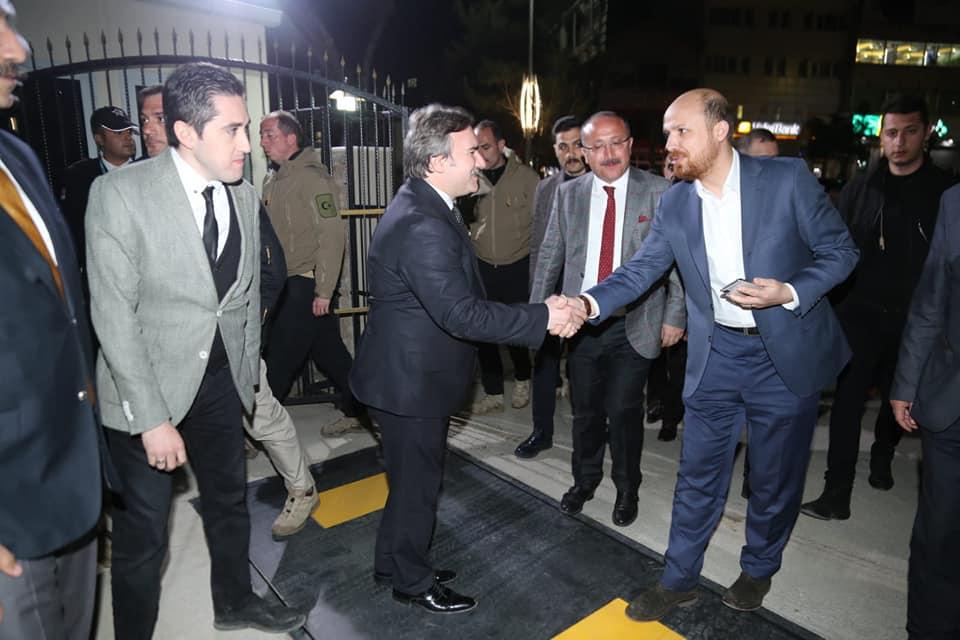 Bilal Erdoğan Siirt'te