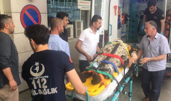 Siirt'te Trafik Kazası 9 Yaralı