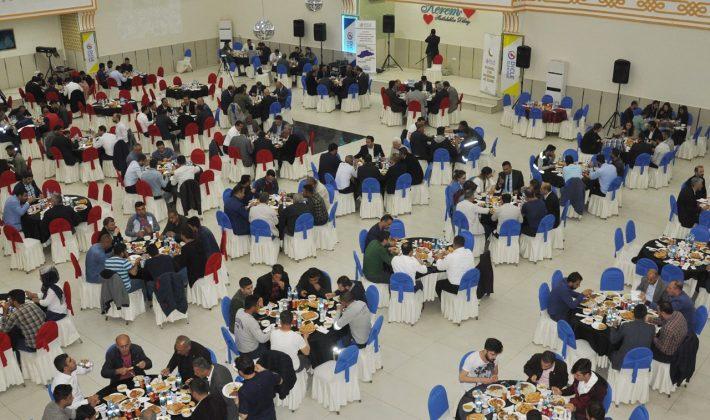 Dicle Elektrik Çalışanları Siirt'teki İftarda Buluştu