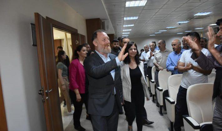 HDP EŞ GENEL BAŞKANI TEMELLİ SİİRTTE