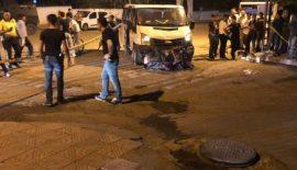 Minibüs İle Motosiklet Çarpıştı 2 Yaralı