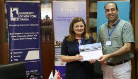 Prof.Dr.Vefik Arıcaya Yurt Dışından Ödül