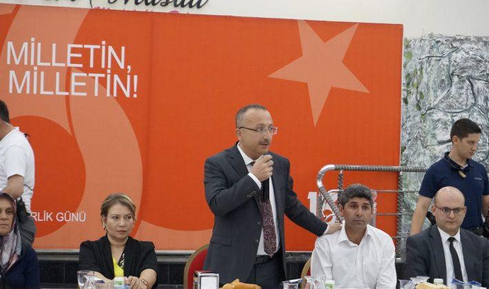 15 Temmuz Demokrasi Ve Milli Birlik Günü  Kutlamaları Başladı