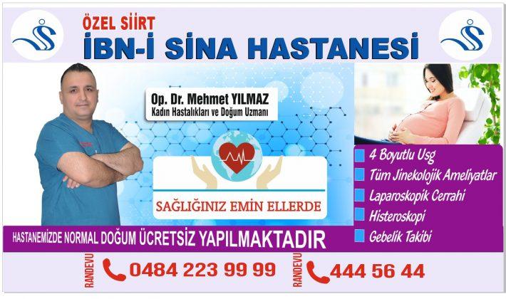 Op.Dr.Mehmet Yılmaz Kadın Hastalıkları Ve Doğum Uzmanı