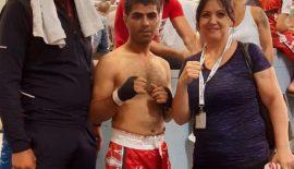 Vedat Kayıkçı, Türkiye Kick Boks Şampiyonasında Türkiye 3. Oldu.