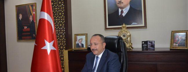 Vali Ali Fuat ATIK 'IN '15 Temmuz Şehitlerini Anma Demokrasi  Ve Milli Birlik Günü '  Mesajı