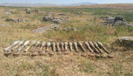 PKK'ya Yönelik Düzenlenen Operasyonda Patlayıcı Ve Mühimmat Ele Geçirilmiştir.