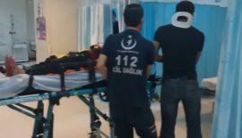 Tillo  Yolundan Trafik Kazası : 2 Yaralı