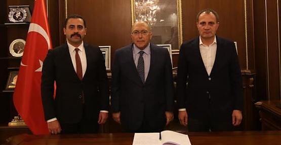 Kültür ve Turizm Bakan Yardımcısı Prof. Dr. A.Haluk Dursun, Pervari İlçemizi Ziyaret Etti Kültür ve