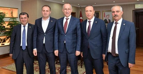 Milletvekili Osman Ören, Karayolları Genel Müdürü ve TOKİ Başkanını Ziyaret Etti AK Parti