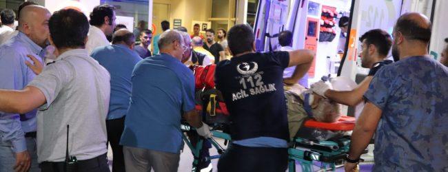 Pervari'de Yolcu Minibüsü Şarampole Devrildi 2 Ölü 9 Yaralı