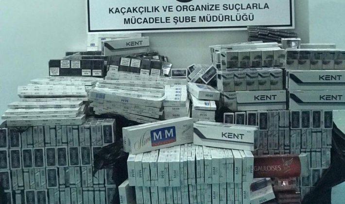 976 Karton  Kaçak Sigara Ele Geçirildi
