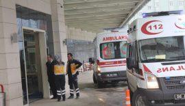 Siirt'te Minibüs Devrildi 2 Yaralı