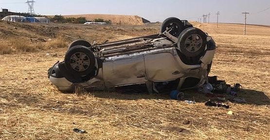 Siirt'te Otomobil Devrildi: 1 Ölü, 4 Yaralı