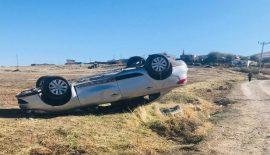 Siirt'te Otomobil Takla Attı 2 Yaralı