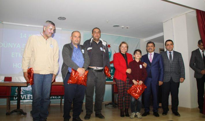Siirt'te 14 Kasım Dünya Diyabet Günü Etkinlikleri Düzenlendi