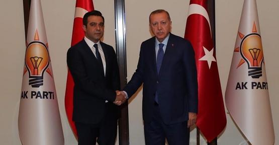 AK Parti İl Başkanı Av.Ekrem Olgaç'tan Teşekkür