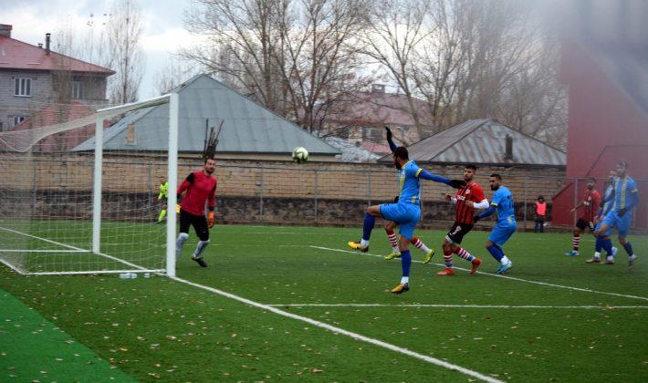 Siirt İl Özel İdare Spor, Patnos Spor'da Gol Şov Yaptı